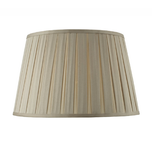 Degas Empire Box Pleated Shade 40CM Taupe